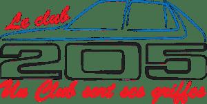 Logo club 205 France