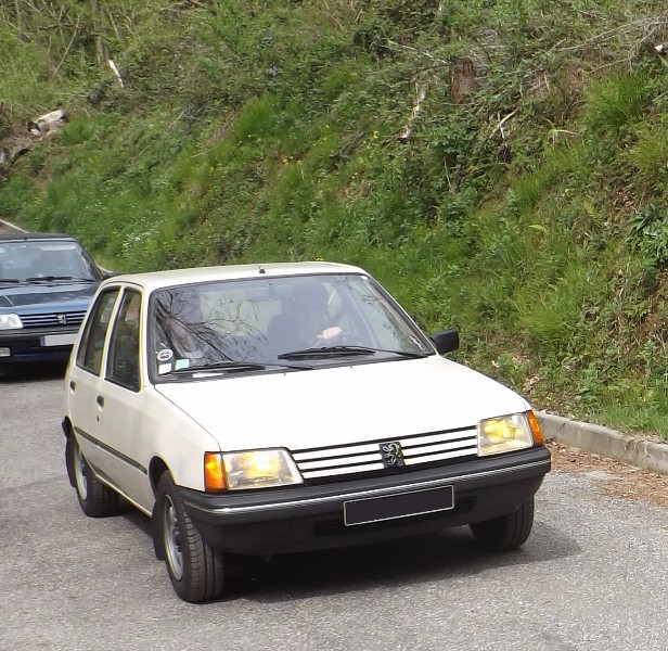 205 SR (1.4 XY7 de 60 ch) de 1985