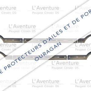 Kit extensions d'ailes et portes pour 205 GTI / CTI GRIS OURAGAN