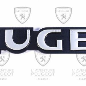 Monogramme Peugeot Neuf