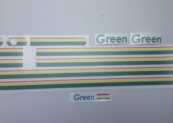 Kit Déco 205 Green (port inclus)
