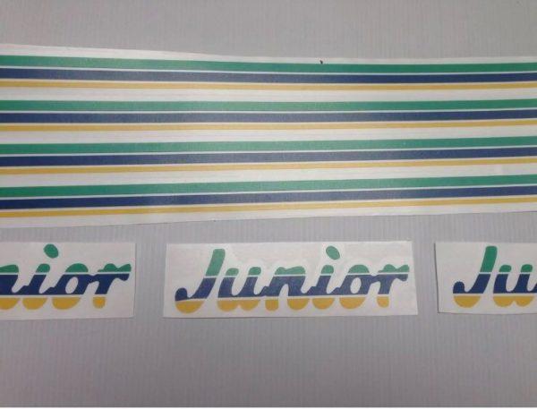 kit Déco 205 Junior jaune (Port inclus)