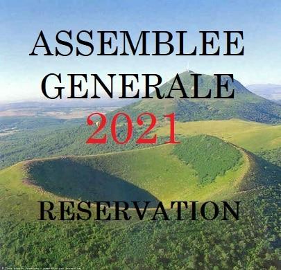 Réservation Assemblée Générale 2021