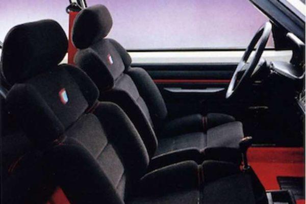 Sellerie complète (avant-arrière) 205 Rallye